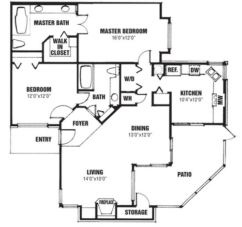 Majestic floor plan